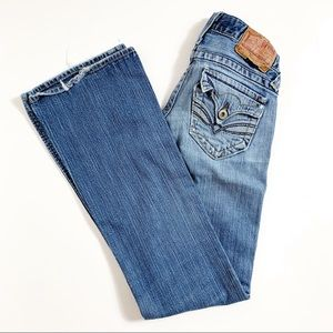 Lucky Brand Lil Maggie Ultra Low Rise Jeans